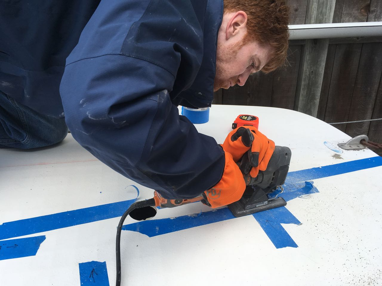 cutting deck for sprit